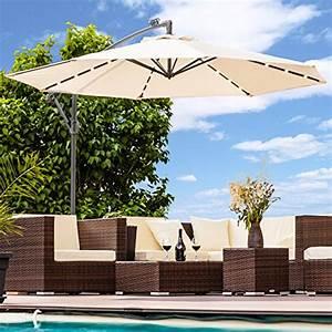 sonnenschutz und andere gartenmobel von swing harmonie With französischer balkon mit luxus sonnenschirm