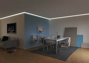 Led Leiste Decke : iluminacion indirecta led salon y salas de estar ~ Sanjose-hotels-ca.com Haus und Dekorationen
