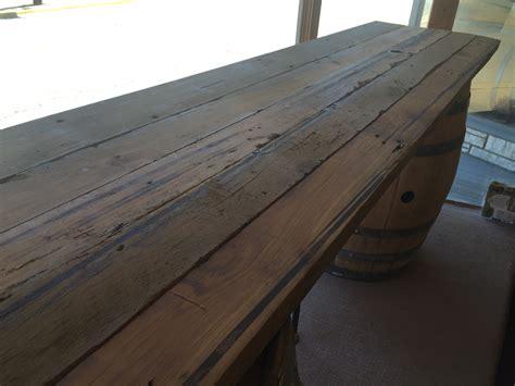 wood plank table top rental  oak wine decor