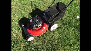 Yard Machines Lawn Mower 550ex Briggs  U0026 Stratton Engine