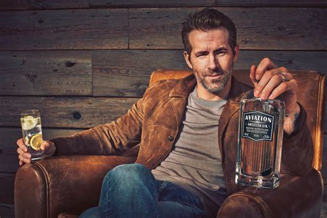 Ryan Reynolds Now Owns Aviation Gin, But Has A Light