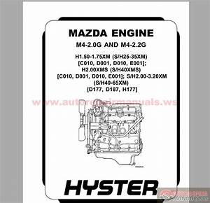 Hyster Forklift Parts And Service Manual Cd8