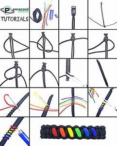 Rainbow  Paracord Bracelet Tutorial
