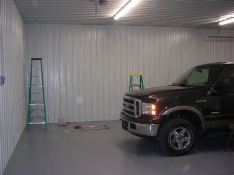 Materials for garage ceiling  Metal VS 4x8 panels   The