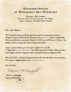 harry potter party invitations by owl post With hogwarts invitation letter