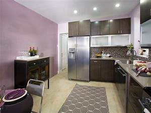 purple kitchen photos hgtv With kitchen colors with white cabinets with lavender fields wall art