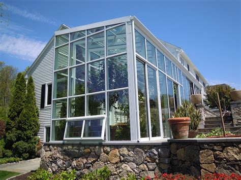Greenhouse Sunroom by Mondern Sunroom Home Contemporary Greenhouses