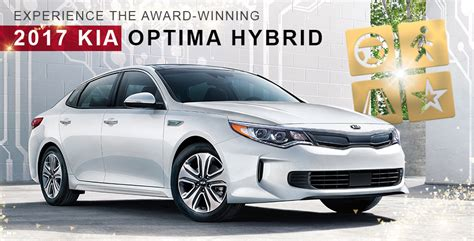 Crown Kia by Save On The Award Winning 2017 Kia Optima Hybrid Near
