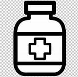 Medicine Clip Clipart Medical Pills Drug Pharmaceutical Coloring Transparent Medicina Prescription Obat Tablet Medication Gambar Symbol Mewarnai Medicamentos Cough Batuk sketch template