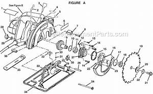 Ryobi csb132l parts list and diagram ereplacementpartscom for Circular saw diagram