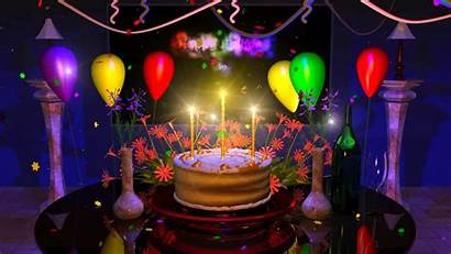 Birthday Happy Animated Cake Animation Magical Wishes