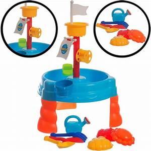 Sand Wasser Spieltisch : stimo24 sand wasser spieltisch set 17 teile spielzeug ~ Whattoseeinmadrid.com Haus und Dekorationen