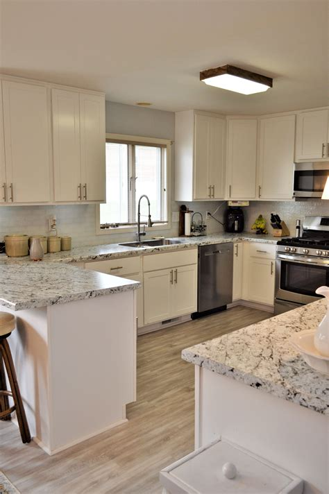 White Laminate Countertops by Laminate Countertop Modern Edge Detail White Granite