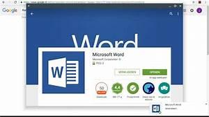Microsoft Word On A Chromebook