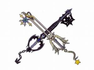 Kingdom Hearts images Roxas' Keyblades HD wallpaper and ...