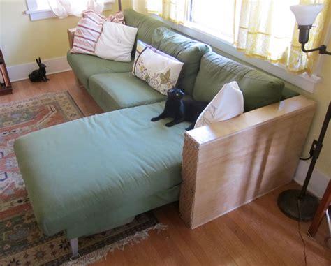 karlstad sofa leg hack ikea karlstad hack root simple