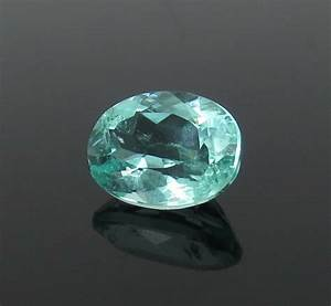 AGL Certified 1.54ct Oval Cut Neon Green Paraiba ...