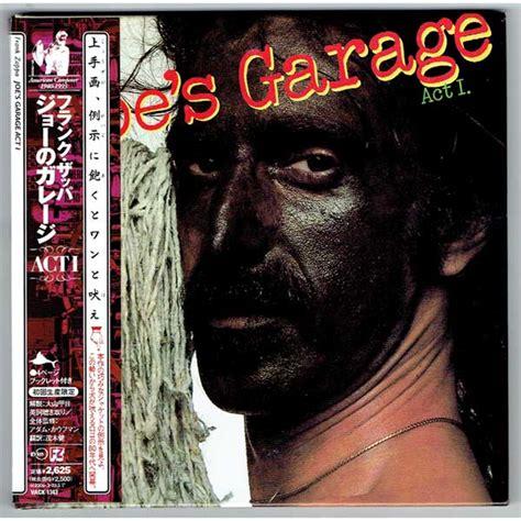 Frank Zappa Joe S Garage Lyrics by Joe S Garage Act I Used Japan Mini Lp Cd Frank Zappa