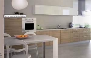 cuisine chene clair couleur mur meilleures images d With marvelous meuble de cuisine en bois rouge 6 com moderniser cuisine rustique