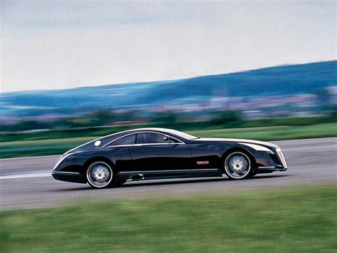 maybach mercedes coupe fab wheels digest f w d 2005 maybach exelero concept