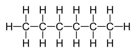 what is structural formula file hexane 2d flat a png