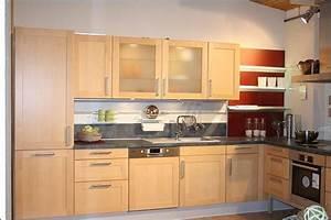 Wir bauen um kuche fm eterna birke natur wohnen mobel for Küche birke
