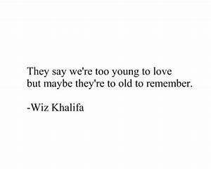 Young Love Tumblr Quotes