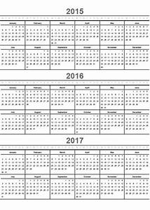 printable calendar 2016 home life weekly With multiple year calendar template