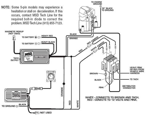 Medallion Tachometer Wiring Diagram by 5 Pin Btm 6 Hei Msd