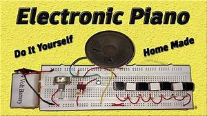How To Make Electronic Piano Circuit Using 555 Timer Ic