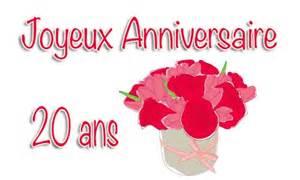 anniversaire de mariage 20 ans carte anniversaire mariage 20 ans virtuelle gratuite à imprimer