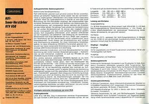 Grundig Rtv 650