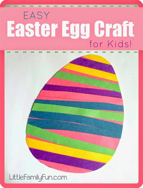 easy easter egg craft  kids