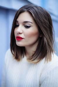 Coupe Cheveux Carré Mi Long : coupe de cheveux carre long cheveux epais ~ Melissatoandfro.com Idées de Décoration