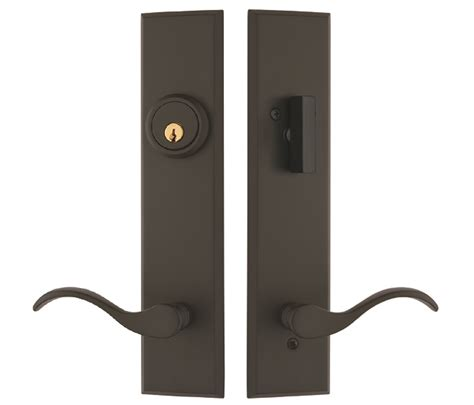 multipoint lock handlesets