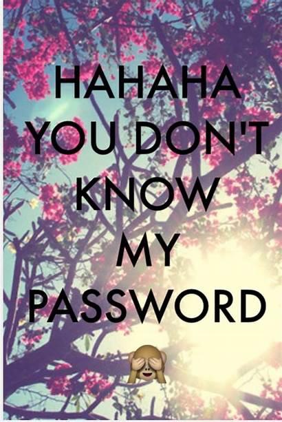 Password Know Don Dont Wallpapers Hahaha Background