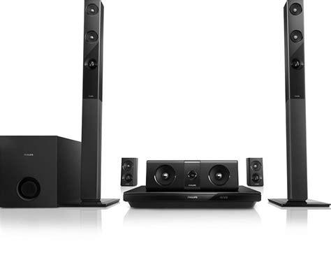 51 3d Bluray Home Theater Htb355098 Philips