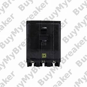 Square D Qo31001021 3 Pole 100 Amp 240v Circuit Breaker