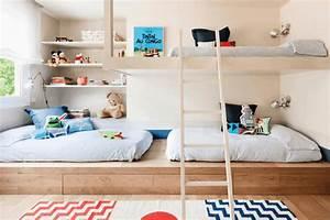 30 idees pour amenager une chambre partagee par plusieurs With idee deco chambre enfant