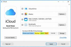 set up and use icloud for windows apple support With how do i access documents in icloud drive