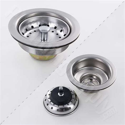 kitchen sink basket strainer installation selection of basket strainers for kitchen and bar sinks 8446