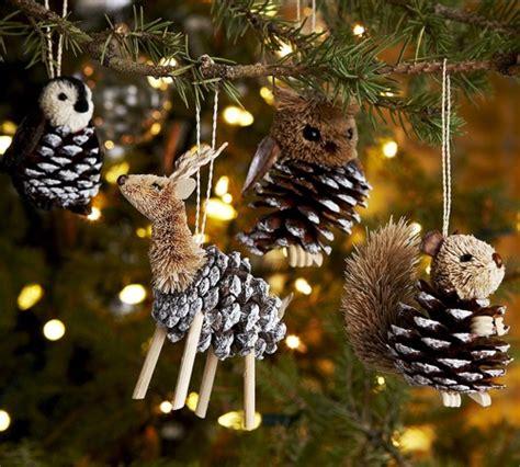five homemade christmas tree ornaments