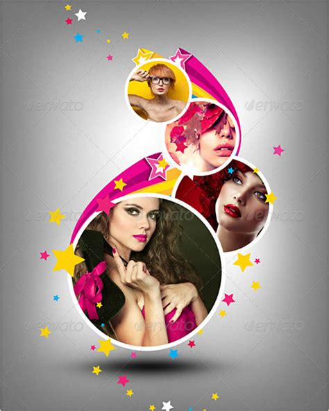 wall photo gallery template amazing collage templates in photoshop entheos