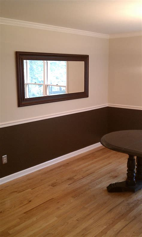 Two Tone Gray Walls With Chair Rail by A New Room Ben George Painting