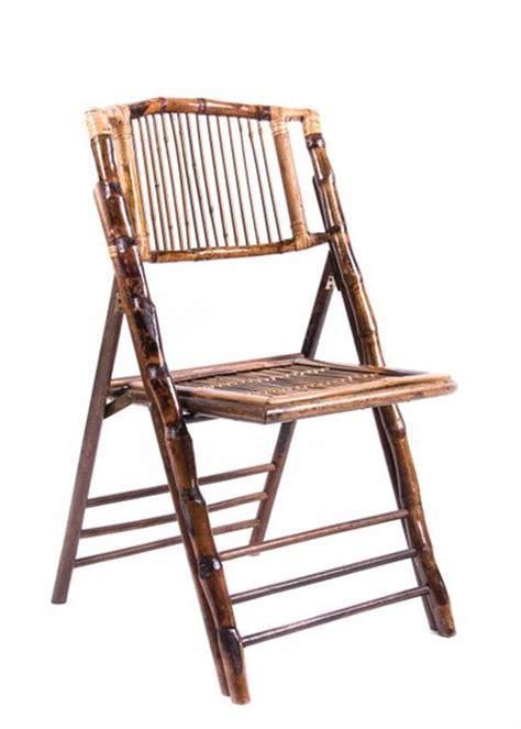 Bamboo Folding Chair  The Chiavari Chair Company