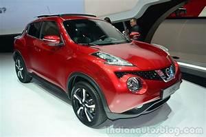 New Nissan Juke Facelift Live From Geneva