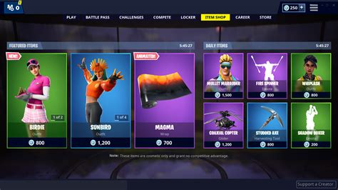 fortnite item shop  skins  cosmetics   sale