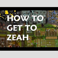 How To Get To Great Kourend ( Zeah ) Osrs Youtube