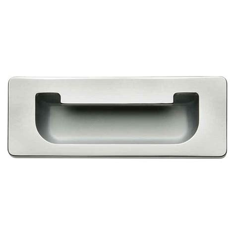 hafele cabinet door drawer flush inset pull handle in
