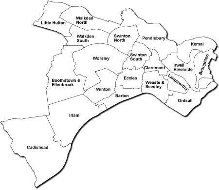 salford map